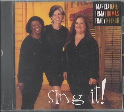 SING IT! BY BALL,MARCIA (CD)