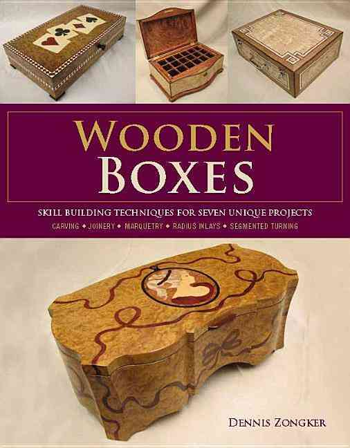 Wooden Boxes By Zongker, Dennis Lee